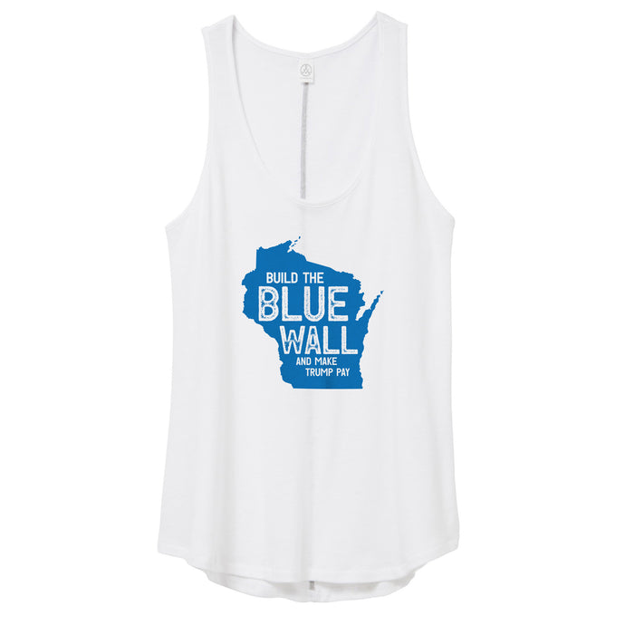 Blue Wall Tank Top (WI) // Women's