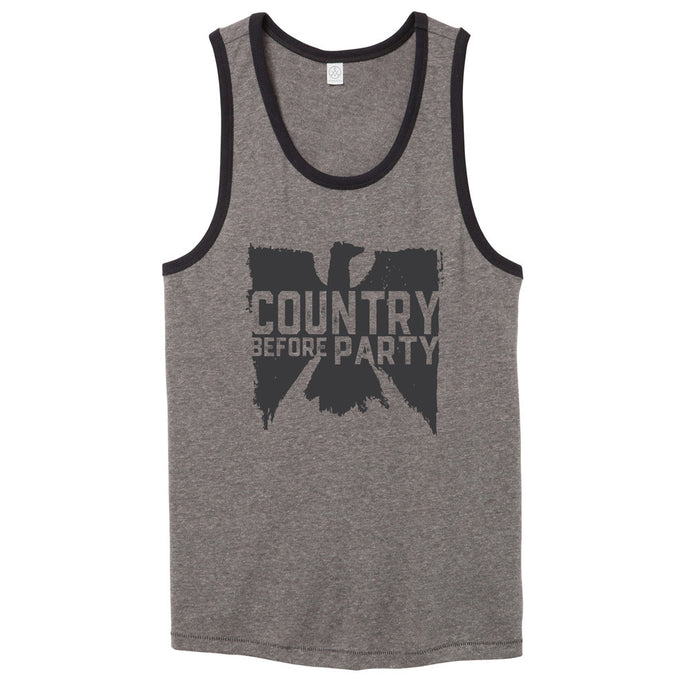 Country Before Party Tank Top // Men's