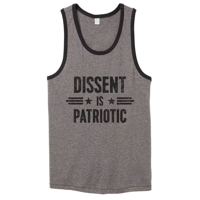 Dissent Is Patriotic Tank Top // Men's