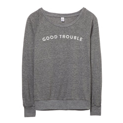 Good Trouble Pullover // Women's