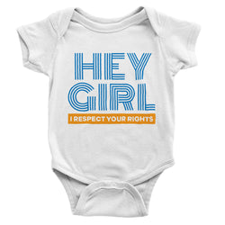 Hey Girl Onesie // Organic Cotton