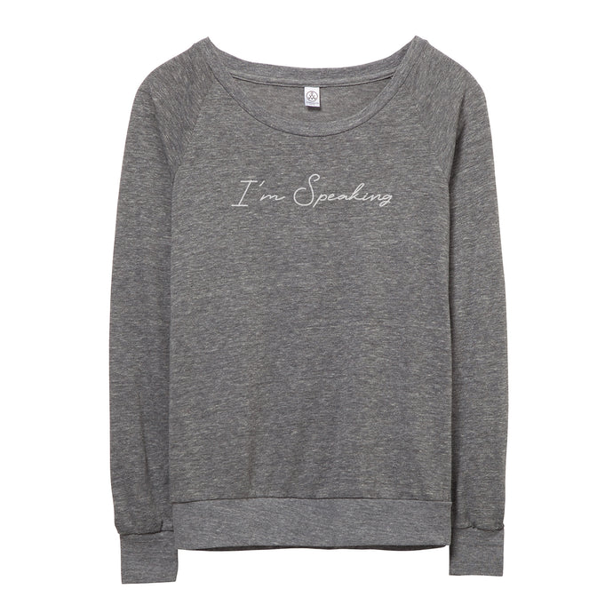 I'm Speaking Pullover // Women's