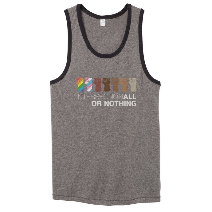 IntersectionALL Or Nothing Vintage Tank Top // Men's