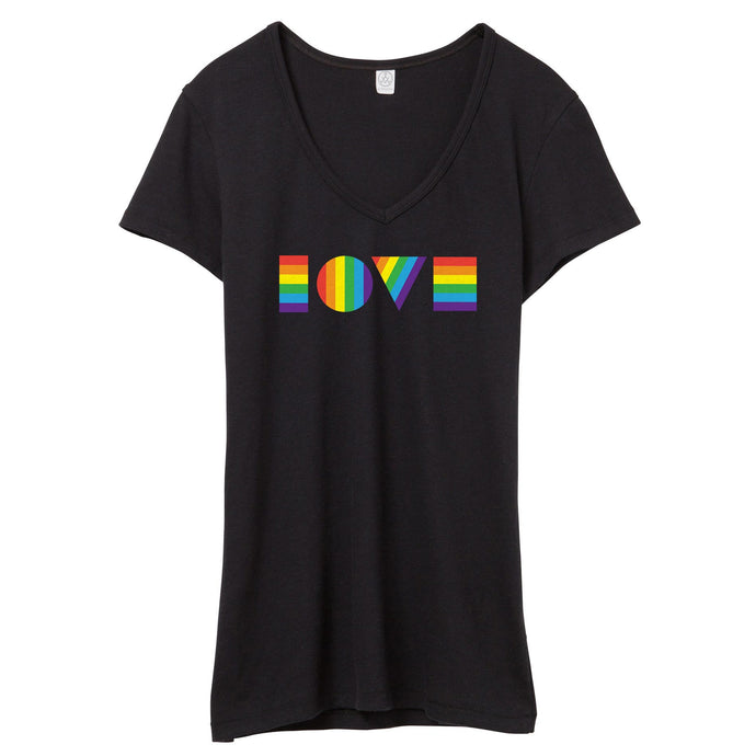 LGBTQ LOVE V-Neck // Women's