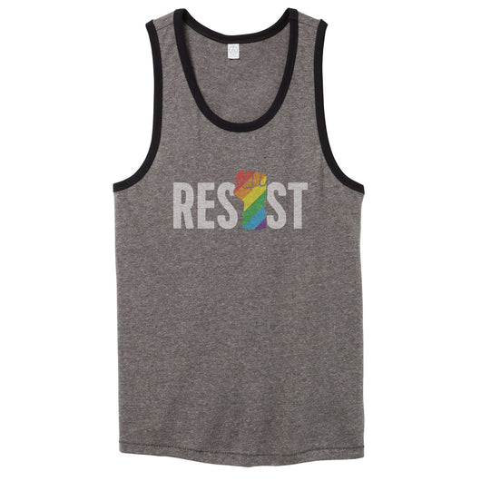 LGBTQ Resist Tank Top // Men's