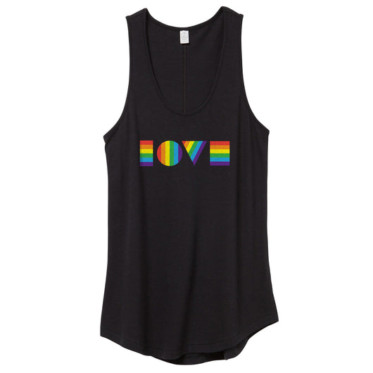 LGBTQ LOVE Tank Top // Women's
