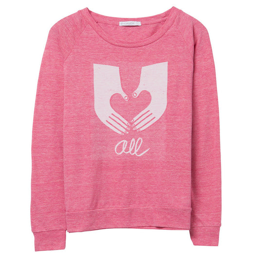 Love Draws Us All Pullover // Women's