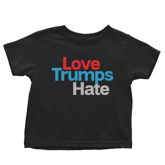 Love Trumps Hate // Organic Toddler Tee