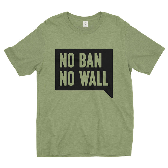 No Ban No Wall T-Shirt // Men's