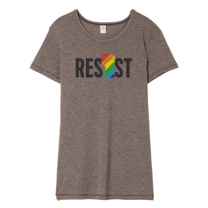 LGBTQ Resist T-Shirt // Women's