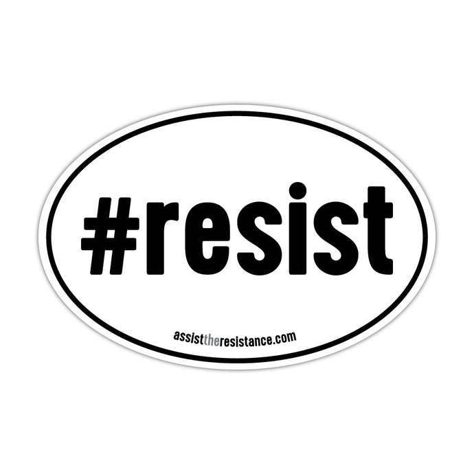 Resist Euro Magnet // Two Pack