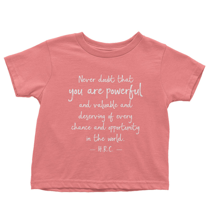 To All the Little Girls Toddler Tee