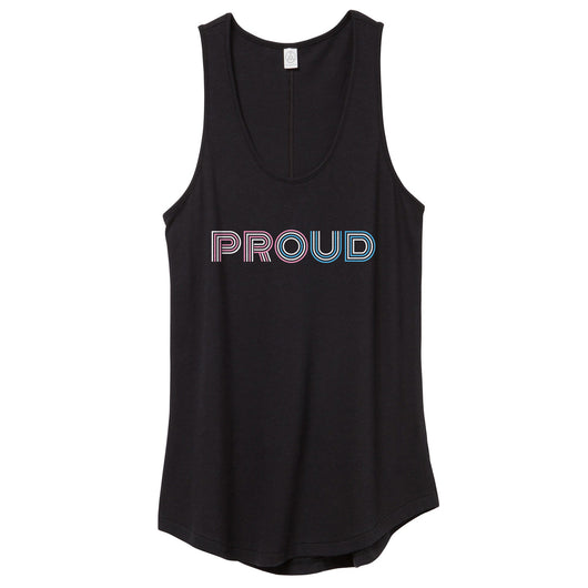 Trans Proud Tank Top // Women's