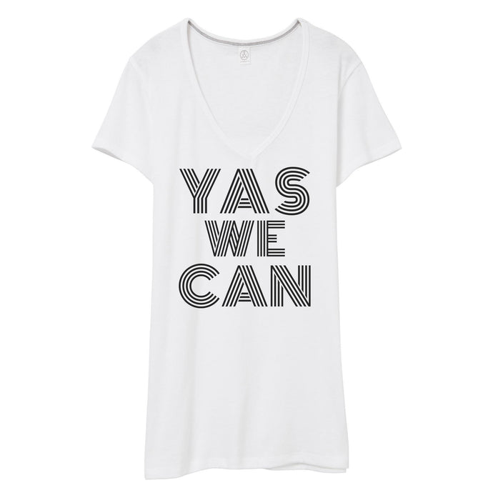 Yas We Can V-Neck // Women's