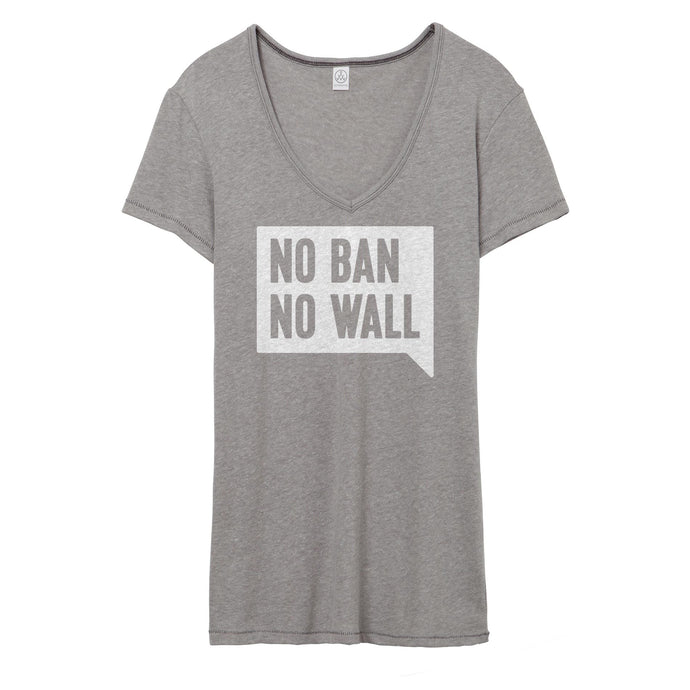 No Ban No Wall V-Neck // Women's