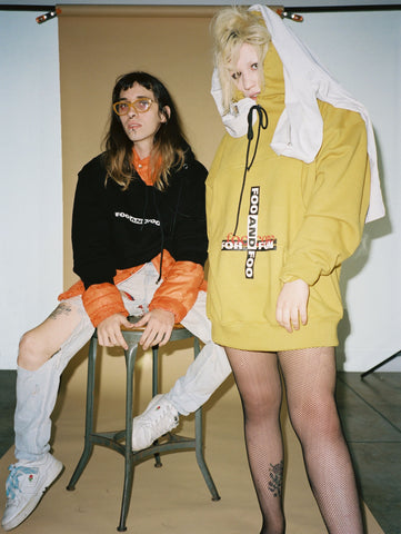FOO AND FOO GRACE PICKERING HOODIE TSHIRT LA STREETWEAR