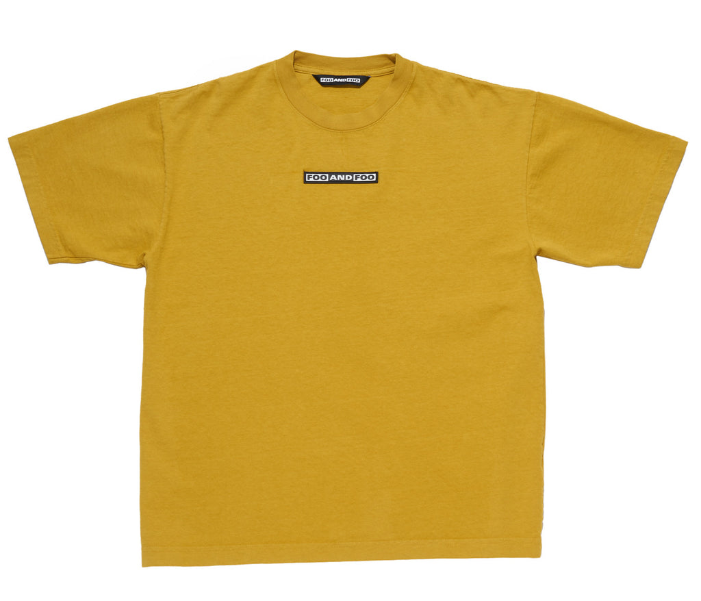 BASIC FOO AND FOO TEE MUSTARD