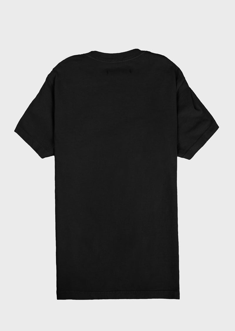 Sleeve Up Tee Black