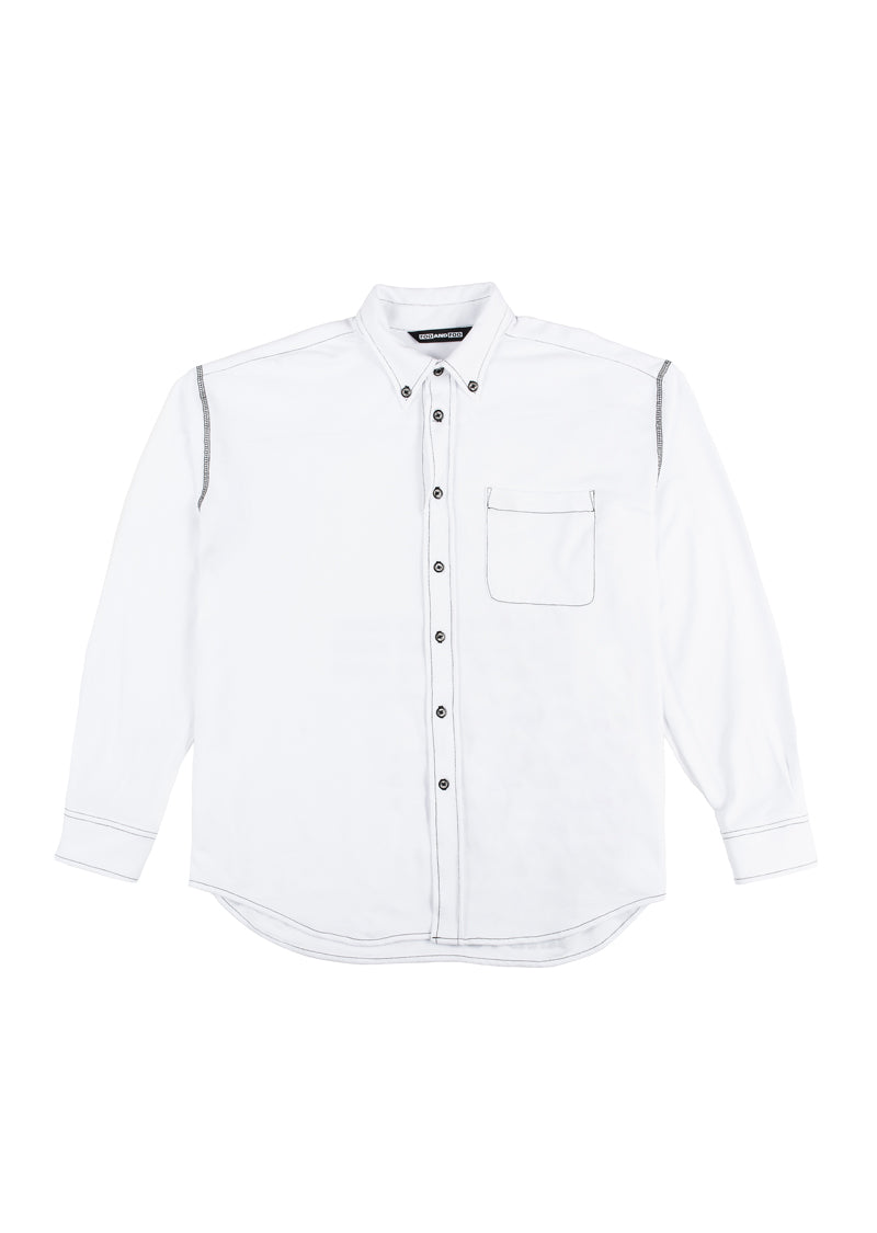 pique buttondown