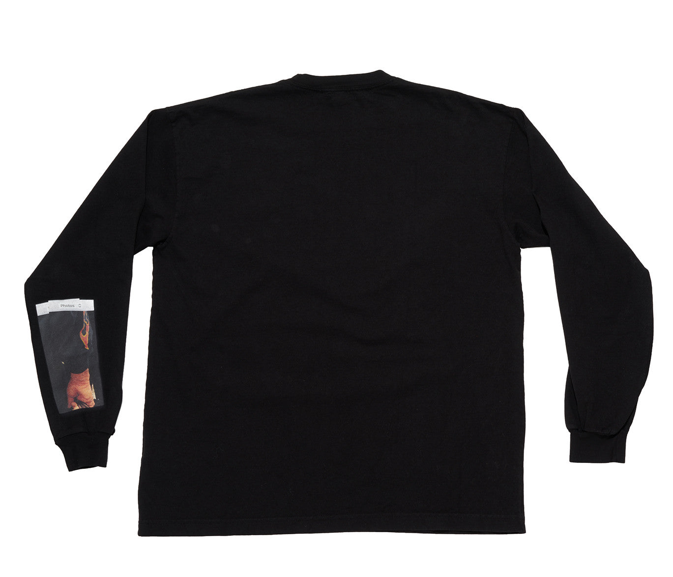 FLAME SLEEVE TEE