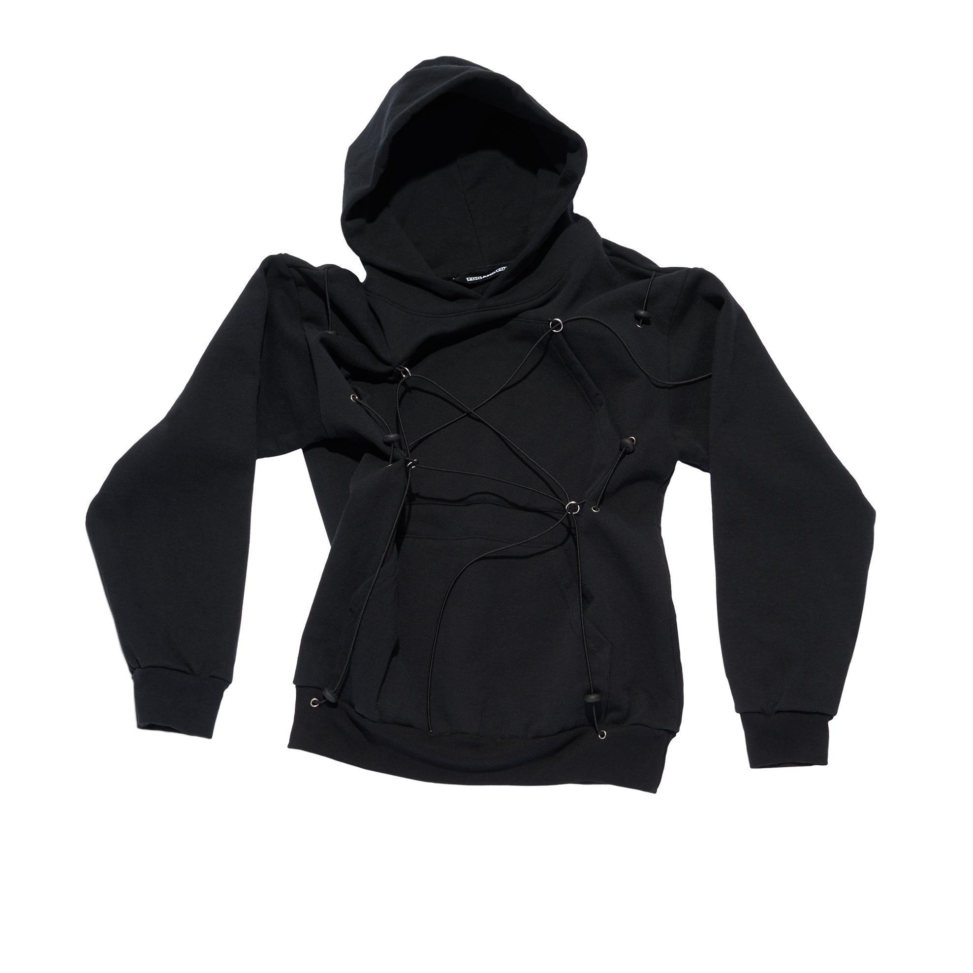 MECHANICAL PULLEY HOODIE BLACK