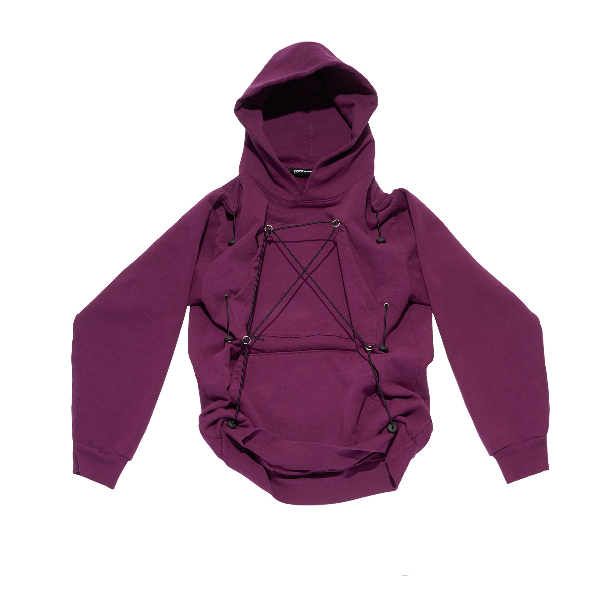 Mechanical Pulley Hoodie Purple