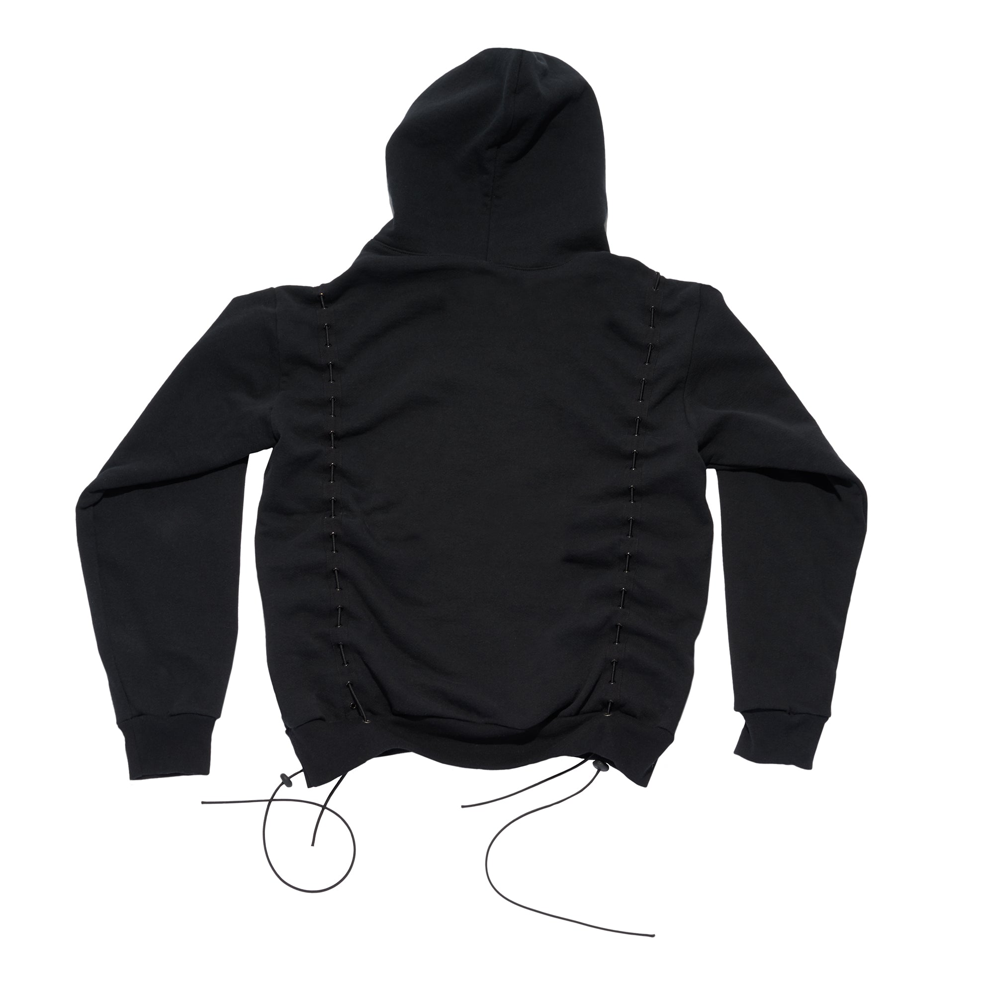 Mechanical Snake Hoodie Black
