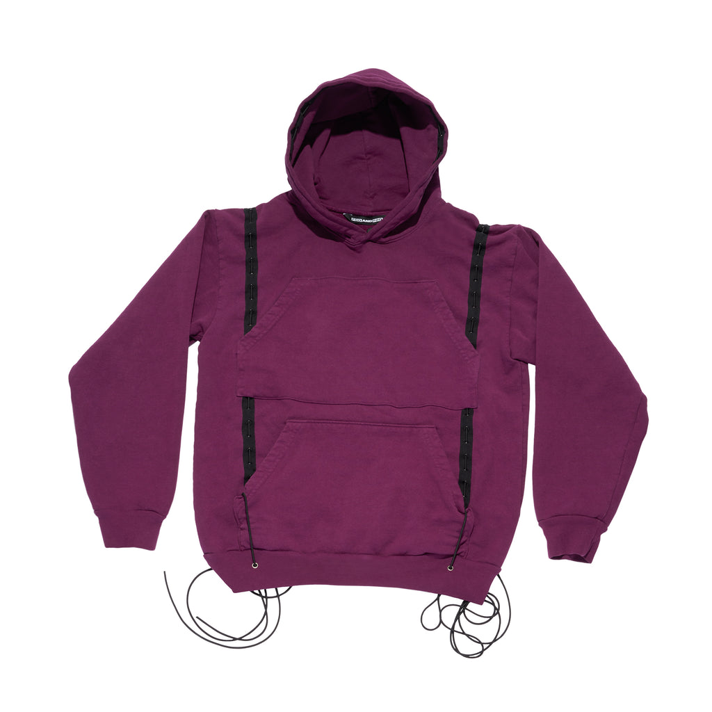 Mechanical Snake Hoodie Purple