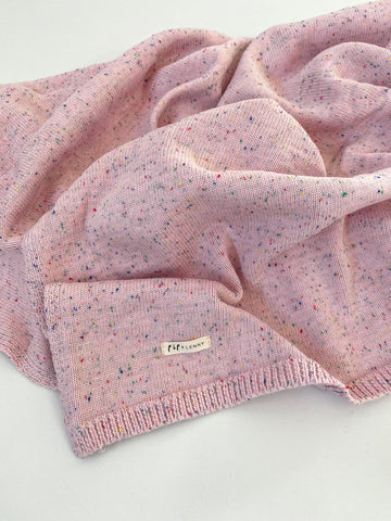 100's & 1000's Cotton Knit Blanket - Candy