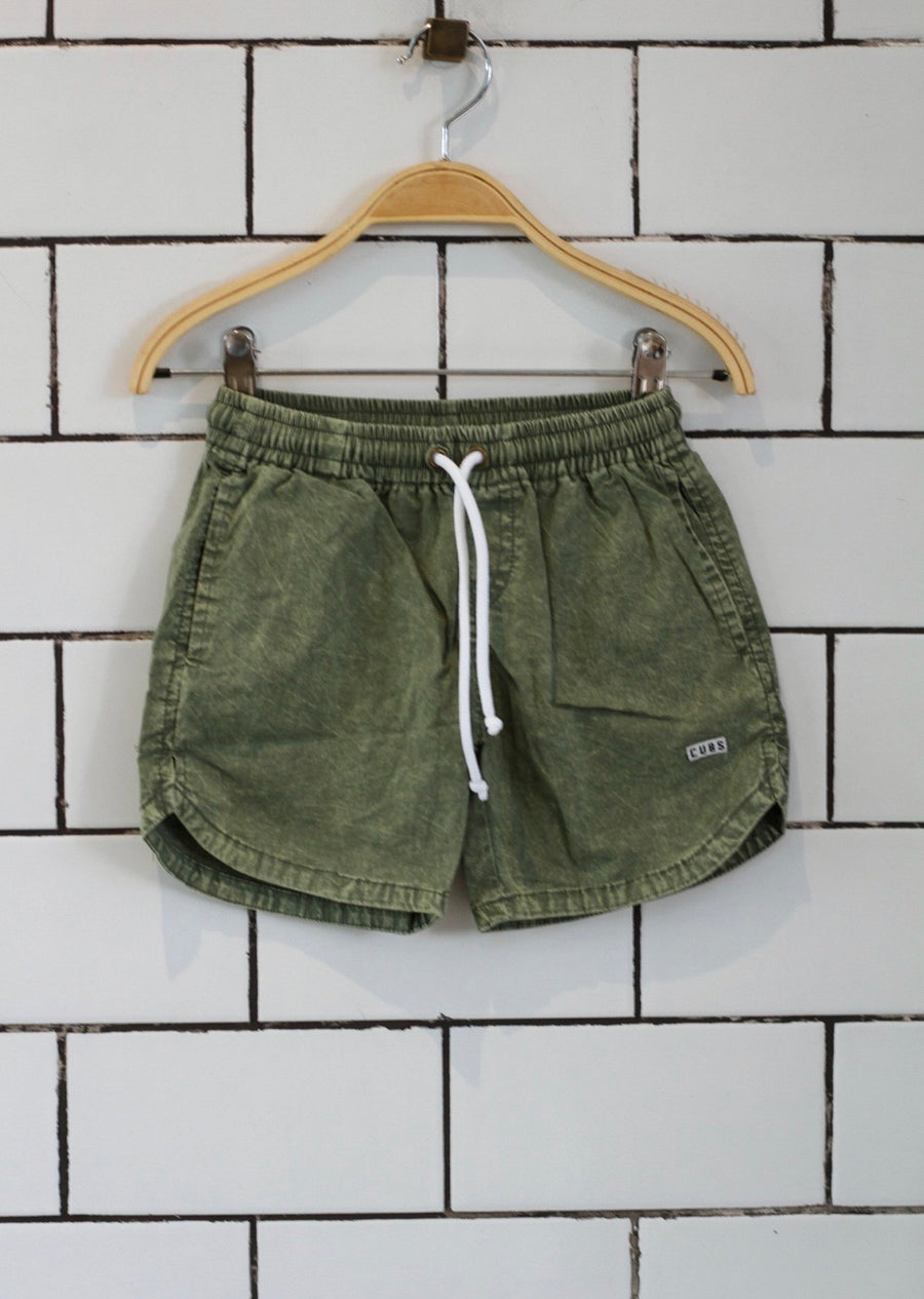 Popplin Boardies - Olive