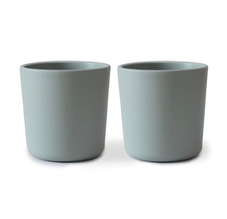 Mushie Cup - Sage (set of 2)