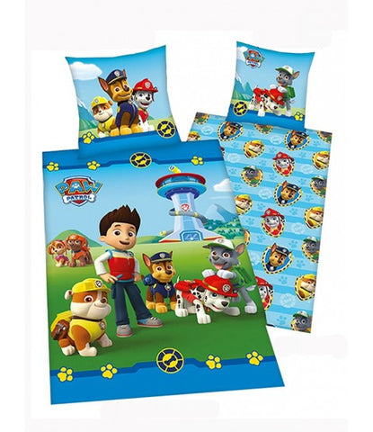 Paw patrol 100% cotton Gang Single Reversible Duvet Cover