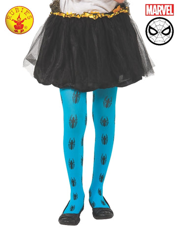 Spider-Girl Blue Tights - Child