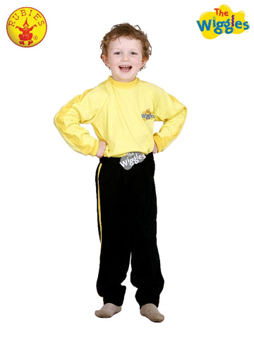 YELLOW WIGGLES COSTUME, CHILD