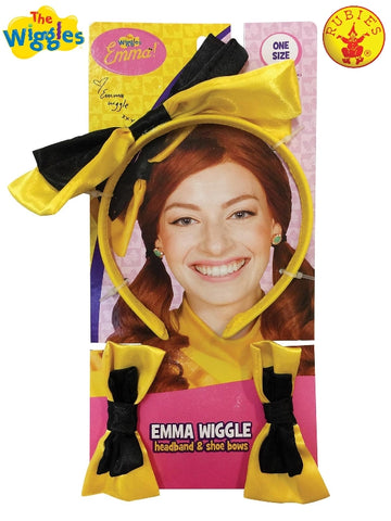 Wiggles Kids Emma Shoe & Headband Costume Accessory Set