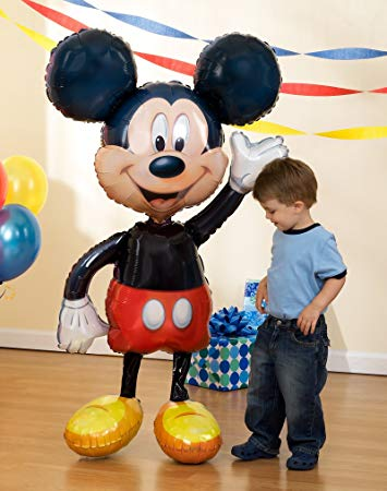 Air Walker Mickey Mouse Foil Balloon