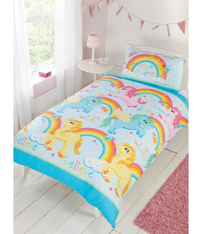 *NEW* Unicorns Double /Queen duvet cover set