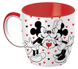 Mickey & Minnie Mouse Ceramic Mug - Love