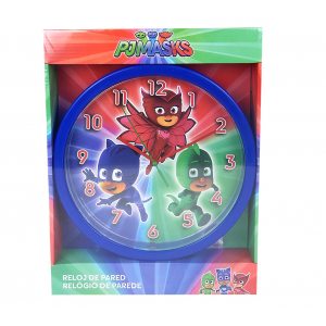 PJ Masks wall clock