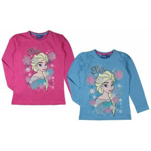 *NEW* Frozen long sleeve 'Land of Ice'  Glitter t-shirt