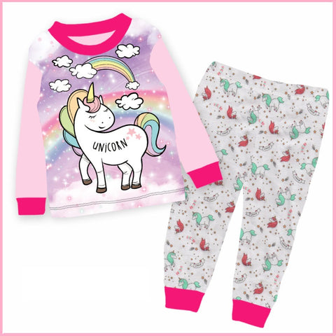 Unicorn  Long Sleeve Pyjama (2-7 years)