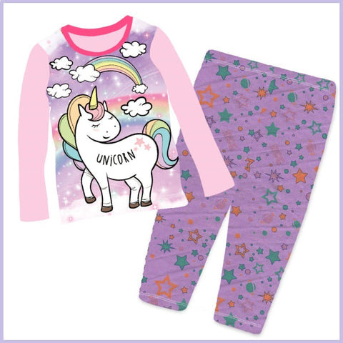 Unicorn Long Sleeve Pyjama (8-12 years)