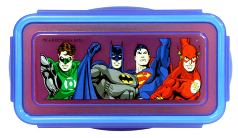 Justice League Snap Snack Container