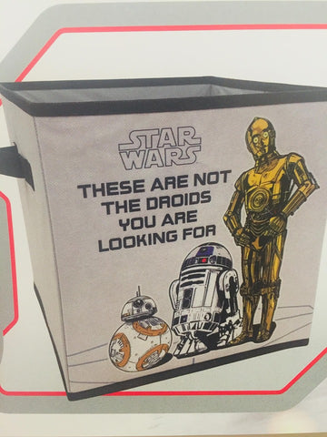 Starwars Storage Cube - r2d2 and c3po