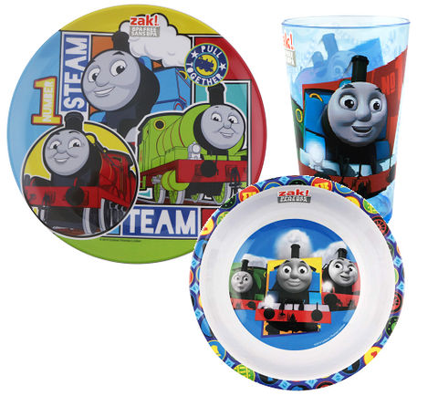 Thomas The Tank Engine Meal time Plate Bowl Cup Set