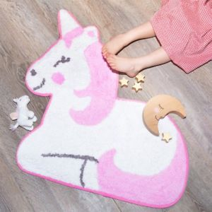 Unicorn Shaped Rug