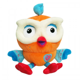 Giggle and Hoot Hootly Beanie soft toy