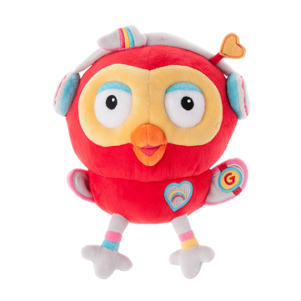 Giggle and Hoot Hootogadget Beanie soft toy