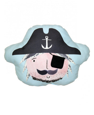 Pirates Ahoy Eye Patch Pocket Cushion