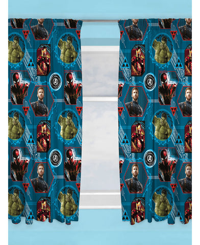 Marvel Avengers Force Curtains
